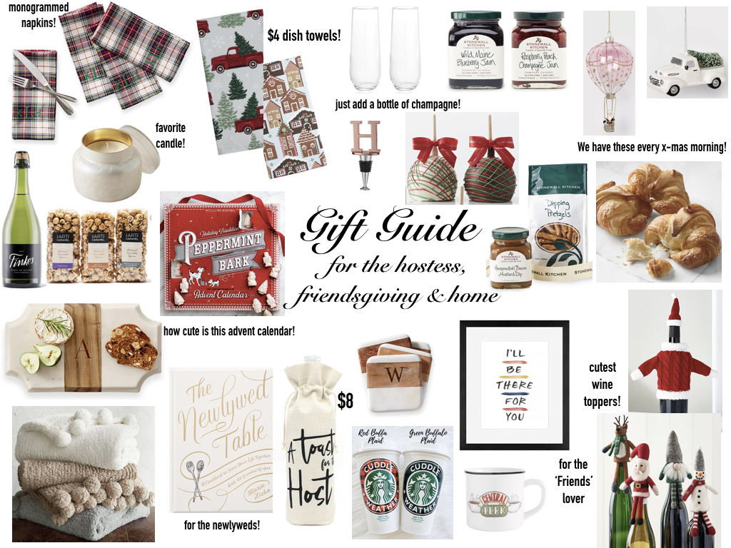 Gift Guide For The Hostess Friendsgiving Home Pines And Palms